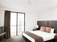 2 Bedroom Apartment Bedroom - Paradise Centre Apartments