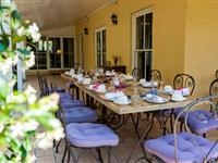 Terrace Dining - Peppers Guest House