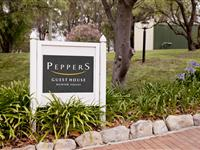 Signage - Peppers Guest House